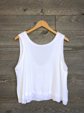 Free People 'New Love' Tank In White