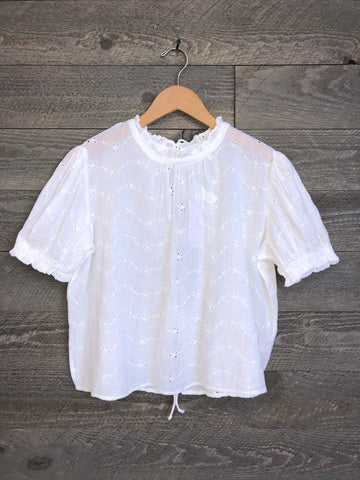 Free People 'Letters To Juliet' Blouse In Ivory