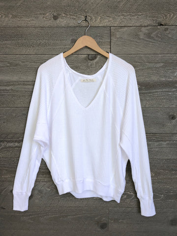 Free People 'Santa Clara' Thermal In White