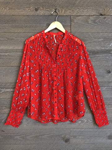 Free People 'Flowers In December' Blouse