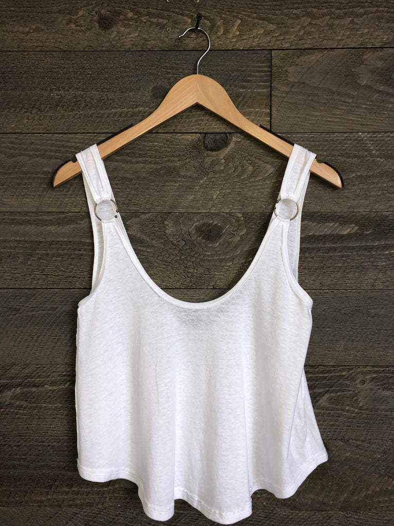 Free People 'Carly' Tank In Ivory