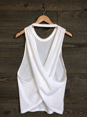Free People 'No Sweat' Tank In White