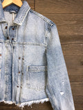 Free People 'Dillon' Denim Jacket