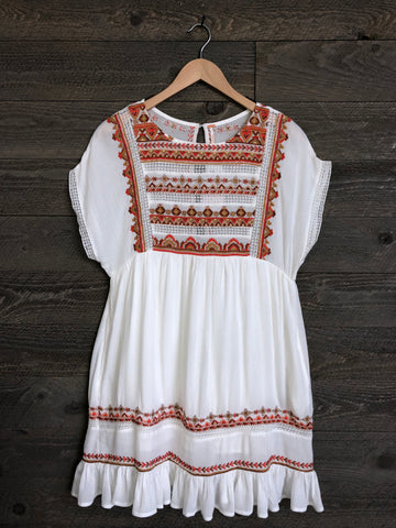 Free People 'Sunrise Wanderer' Mini Dress