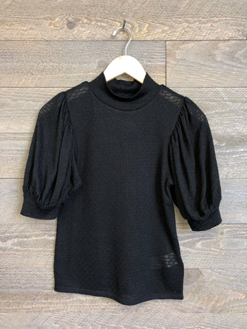 Free People 'Good Luck' Blouse In Black