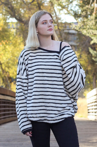 Free People 'Breton' Striped Pullover