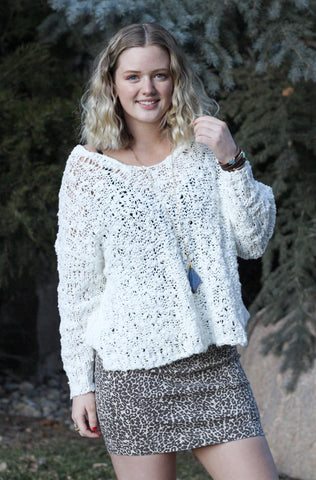 "Free People ""Sunday Shore"" Pullover"