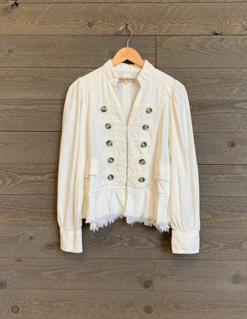 Free People Ariana Embroidered Jacket