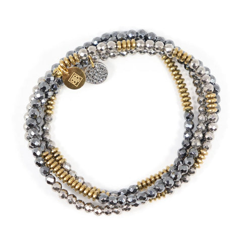 Lila Babe Wrap Bracelet In Sir-Mix-A-Lot