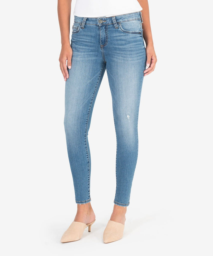 Connie Slim Fit Ankle Skinny, Consciously Wash