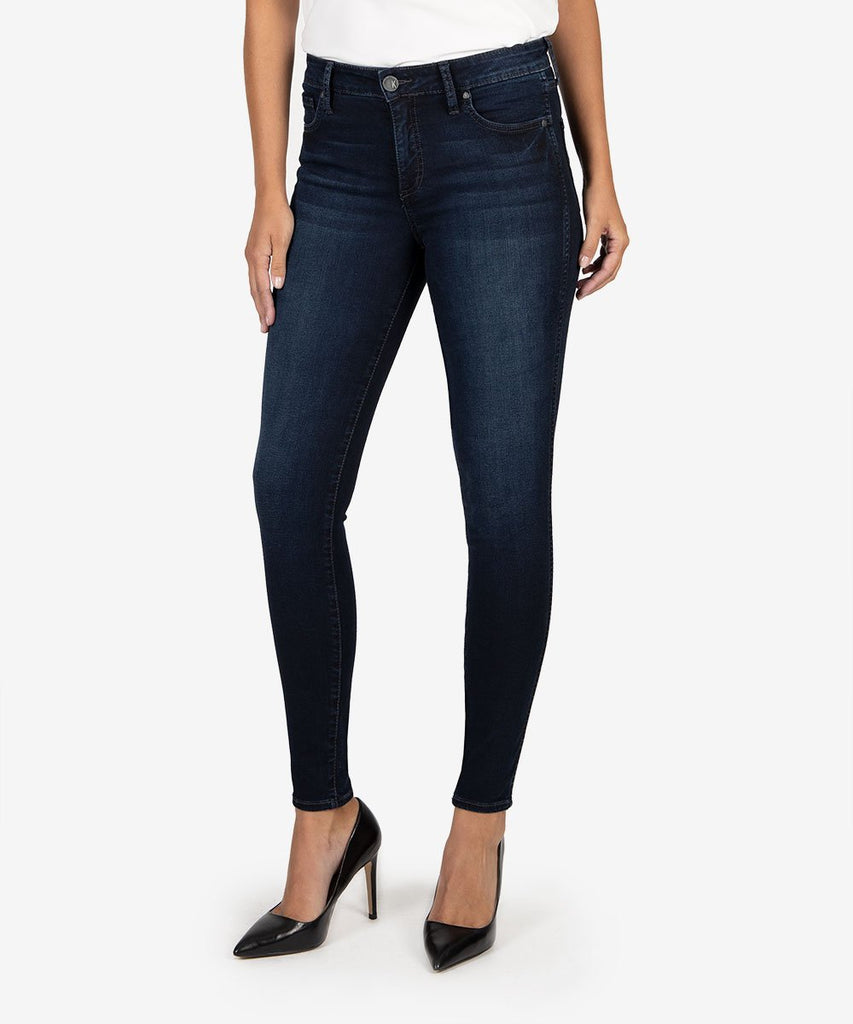 Kut Mia High-Rise Fab Slim Fit Skinny