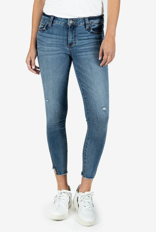 Connie High Rise Ankle Skinny, Empire Wash