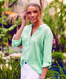 Lucida Top in Mint