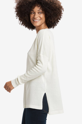 Martha Sweater by Lolë, White