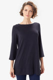 Downtown Tunic by Lolë, Black