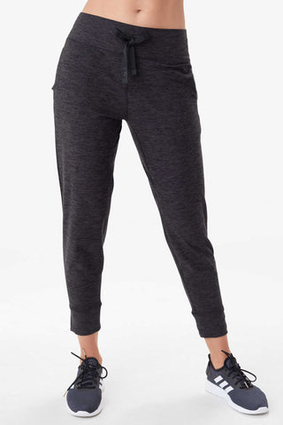 Half Moon Jogger by Lolë, Heather Black
