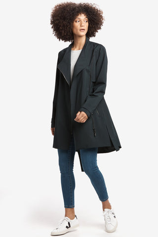 Lena Waterproof Jacket by Lolë, Black