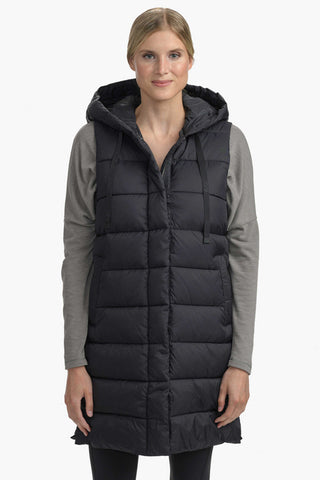 Della Puffy Vest by Lolë, Black