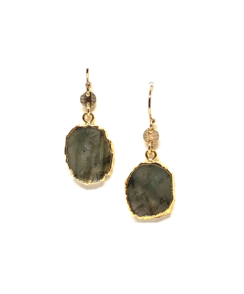 Alexi Labradorite Earrings