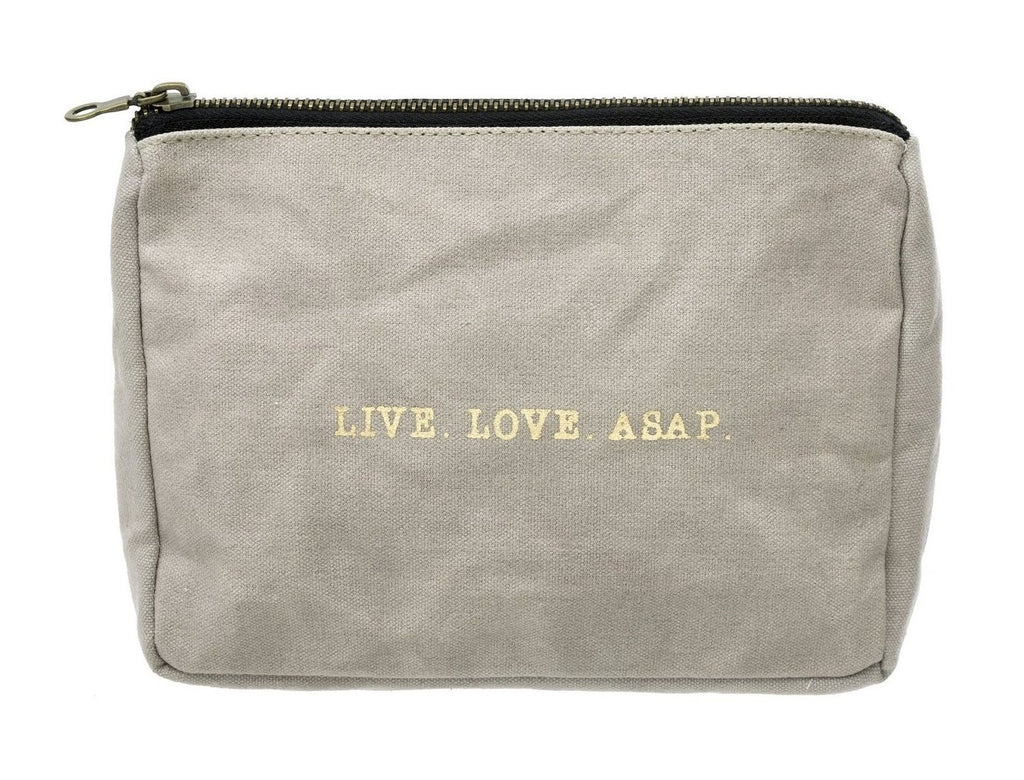 LIVE LOVE ASAP Makeup Bag