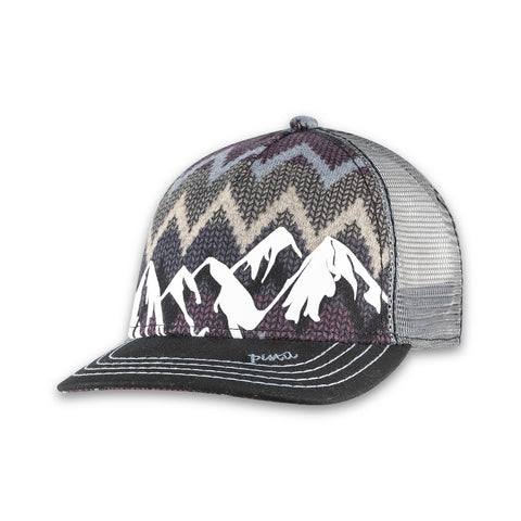 Fall McKinley Trucker Hat in Black