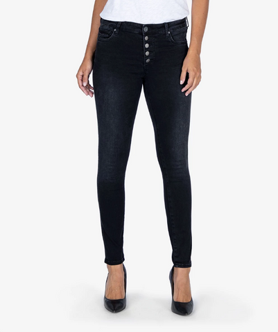 Mia High Rise Slim Fit Skinny Jean in Continually Wash
