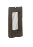 Small Railroad Tie Vertical Mirror