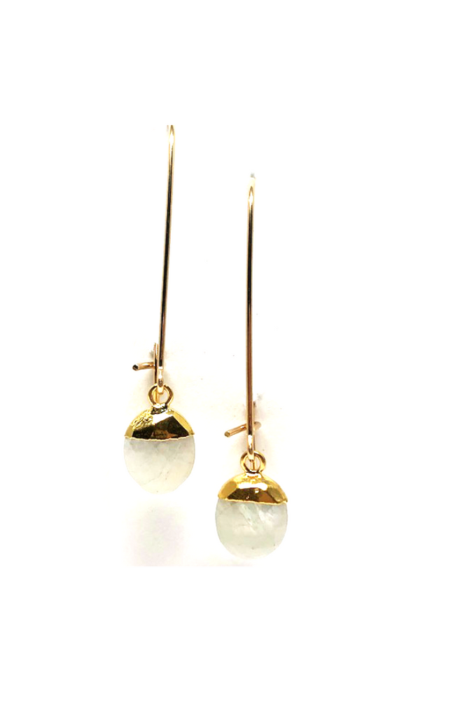 Ciara Moonstone Drop Earrings