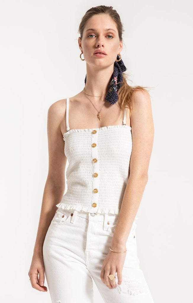 Goldie Button Up Tank