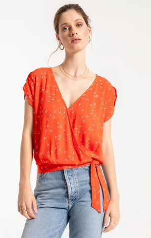 Jeanne Top in Strawberry
