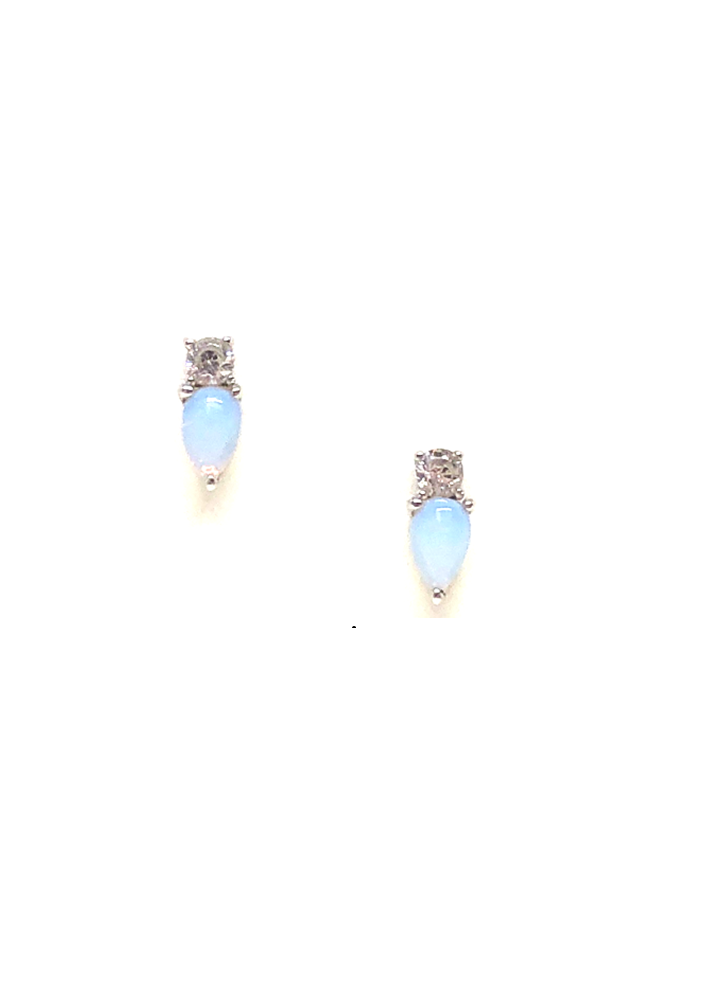 Elodie Opalite Stud Earrings