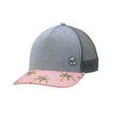 Playa Trucker Hat, Pink
