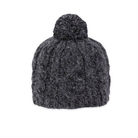 Riley Beanie In Charcoal