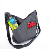 Easy Rider Crossbody Bag in Blackbird
