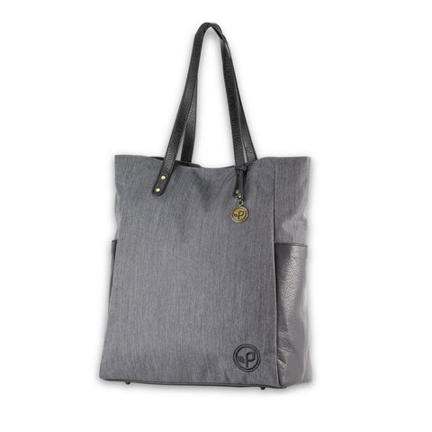 Pistil Just Because Grey Tote in Blackbird