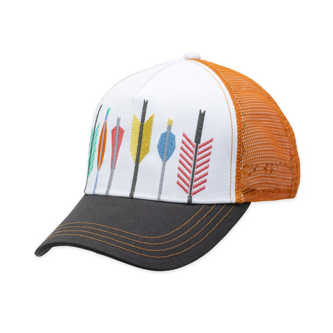 Quiver Trucker Hat – Orange