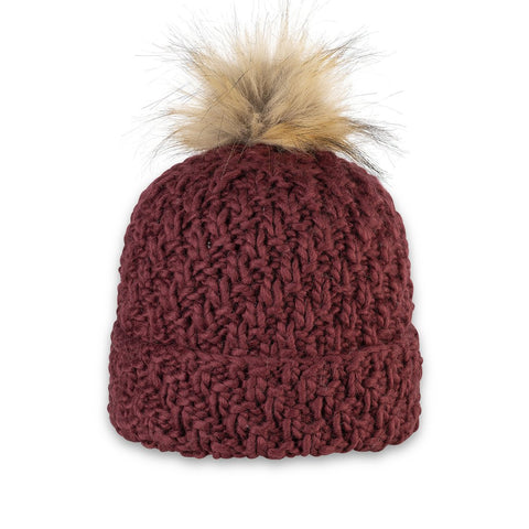 Pistil Designs Diva Beanie In Raisin