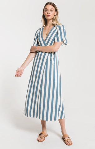 Baja Beach Striped Dress