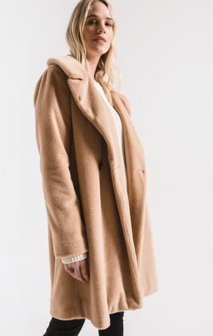 Kate Faux Fur Coat