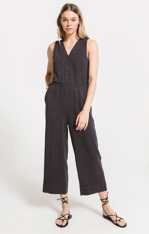 Rapollo Jumpsuit in Washed Black