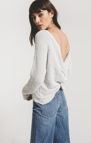 San Remo Twist Back Sweater