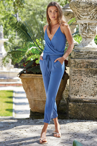 Tessa Denim Blue Jumpsuit