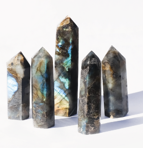 Labradorite Crystal Point Jax Kelly