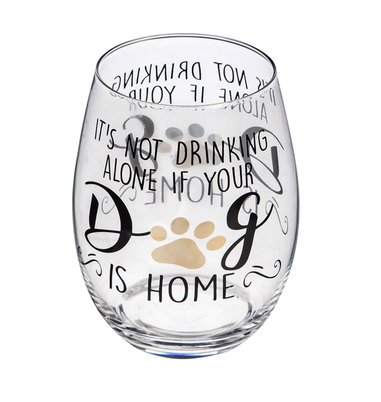 It's Not Drinking Alone If Your Dog is Home
