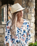 Straw Fedora Hat By Grace & Lace