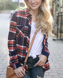 Grace & Lace 'Stretch-Flex Flannel Plaid Top' – Winchester Block