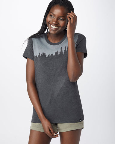Tentree Juniper Tee In Meteorite Black