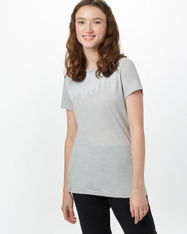 Juniper Tee In Grey Heather by tentree