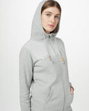 Juniper Zip Hoodie in Heather Grey by tentree