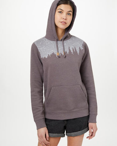 Constellation Juniper Hoodie in Boulder Grey by tentree